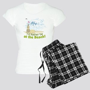 I'd rather be at the Beach! Women's Light Pajamas