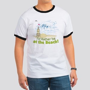 I'd rather be at the Beach! Ringer T