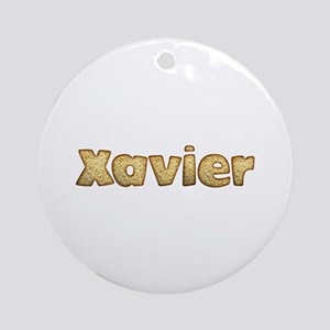 Xavier Toasted Round Ornament