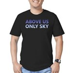 Above Us Only Sky Men's Fitted T-Shirt (dark)