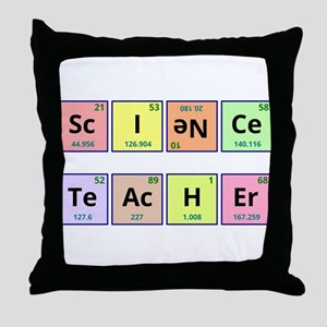 Science Teacher Throw Pillow