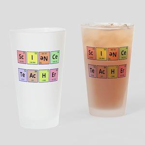 Science Teacher Drinking Glass