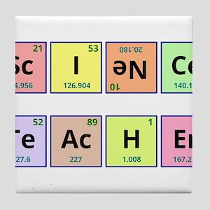 Science Teacher Tile Coaster