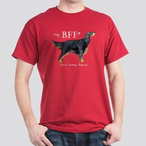 Gordon Setter BFF Dark T-Shirt