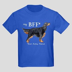 Gordon Setter BFF Kids Dark T-Shirt