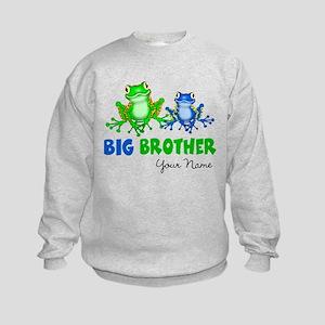 Big Brother Frogs Kids Sweatshirt