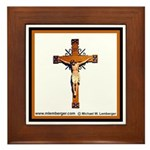 St. Patrick's Church Framed Tile