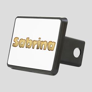 Sabrina Toasted Rectangular Hitch Cover