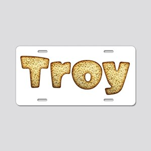 Troy Toasted Aluminum License Plate