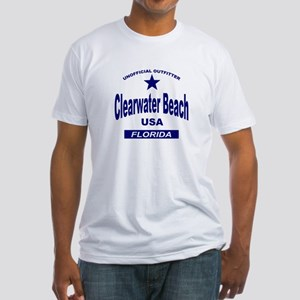 Clearwater Beach Fitted T-Shirt