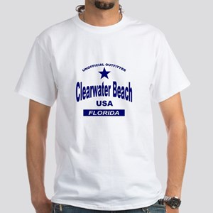 Clearwater Beach White T-Shirt
