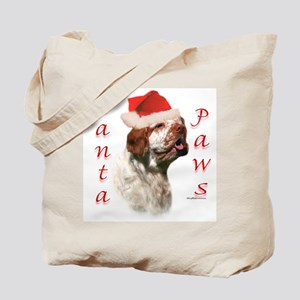 Clumber Paws Tote Bag
