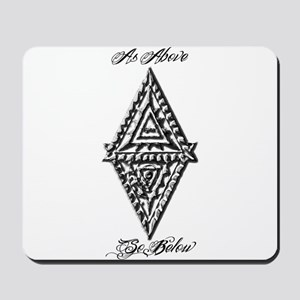 As Above So Below Fludd Mousepad
