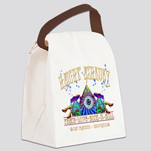 Haight Ashbury Canvas Lunch Bag