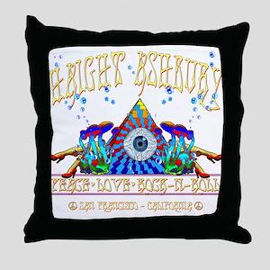 Haight Ashbury Throw Pillow