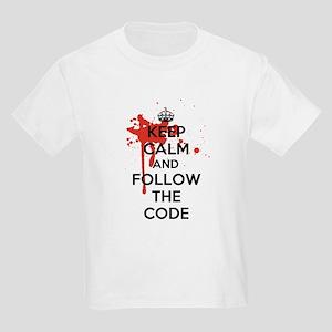 Keep Calm and Follow Harrys Code Kids Light T-Shir