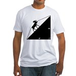 Math Joke Hypotemoose Fitted T-Shirt