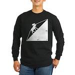 Math Joke Hypotemoose Long Sleeve Dark T-Shirt