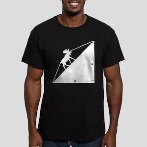 Math Joke Hypotemoose Men's Fitted T-Shirt (dark)