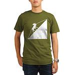 Math Joke Hypotemoose Organic Men's T-Shirt (dark)