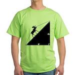 Math Joke Hypotemoose Green T-Shirt