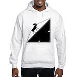 Math Joke Hypotemoose Hooded Sweatshirt