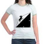 Math Joke Hypotemoose Jr. Ringer T-Shirt