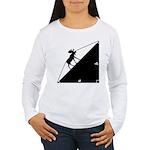 Math Joke Hypotemoose Women's Long Sleeve T-Shirt
