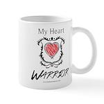 My Heart Warrior Mug