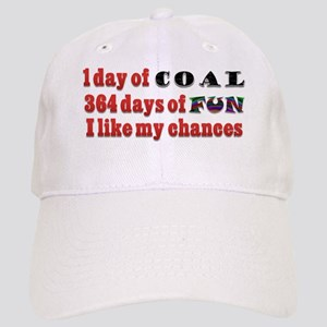 d692af8af9a Christmas 1 Day of Coal 364 Days of Fun Cap