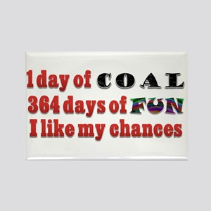 Christmas 1 Day of Coal 364 Days of Fun Rectangle