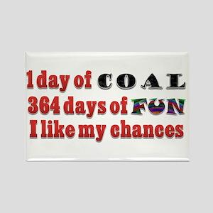 Christmas 1 Day of Coal 364 Days of Fun Rectangle