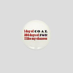 Christmas 1 Day of Coal 364 Days of Fun Mini Butto