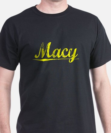 Macy, Yellow T-Shirt