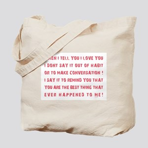 THE BEST THING... Tote Bag