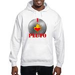 I Love Pluto! Hooded Sweatshirt