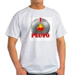 I Love Pluto! Ash Grey T-Shirt