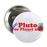 Vote - Pluto For Planet 2006 Button