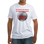 Pluto is a Planet! Fitted T-Shirt