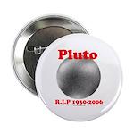 Pluto - RIP 1930-2006 Button