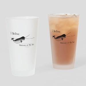 I Believe - Unicorn of the Sea Drinking Glass