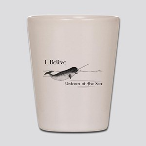 I Believe - Unicorn of the Sea Shot Glass