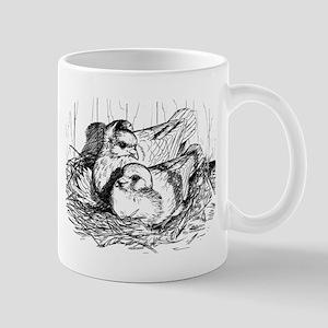 Baby Pigeons Mug
