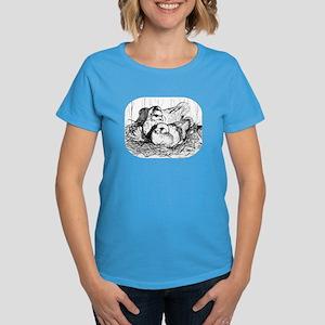 Baby Pigeons Women's Dark T-Shirt