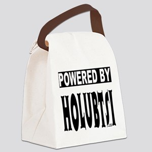 Powered by Holubtsi Canvas Lunch Bag