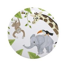 Jungle Ornament (Round)