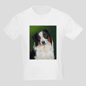 Australian Shepherd Tri Kids Light T-Shirt