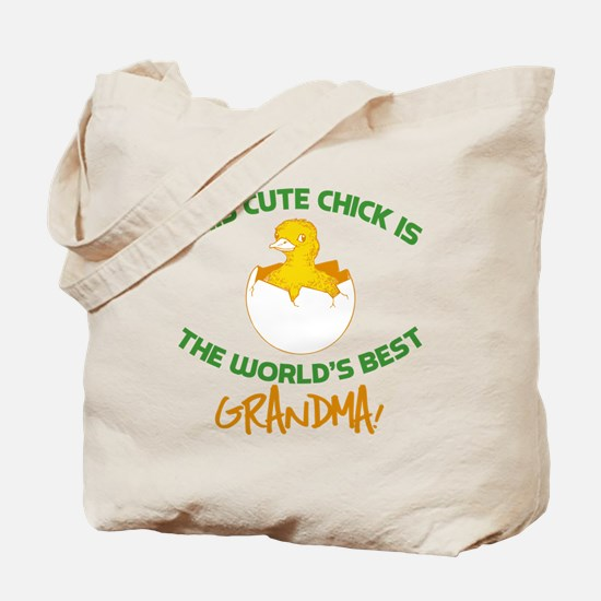 Cute Grandma Tote Bag