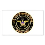 COUNTERTERRORIST CENTER - Rectangle Sticker