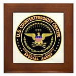 COUNTERTERRORIST CENTER - Framed Tile